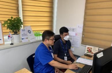 경기도, 러시아‧중앙아시아 환자 대상 온라인 의료 상담 진행