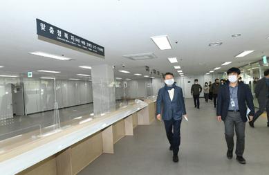 안승남 구리시장, 시민과 함께 동구동 행정복지센터 청사 이전 공동 사전 점검